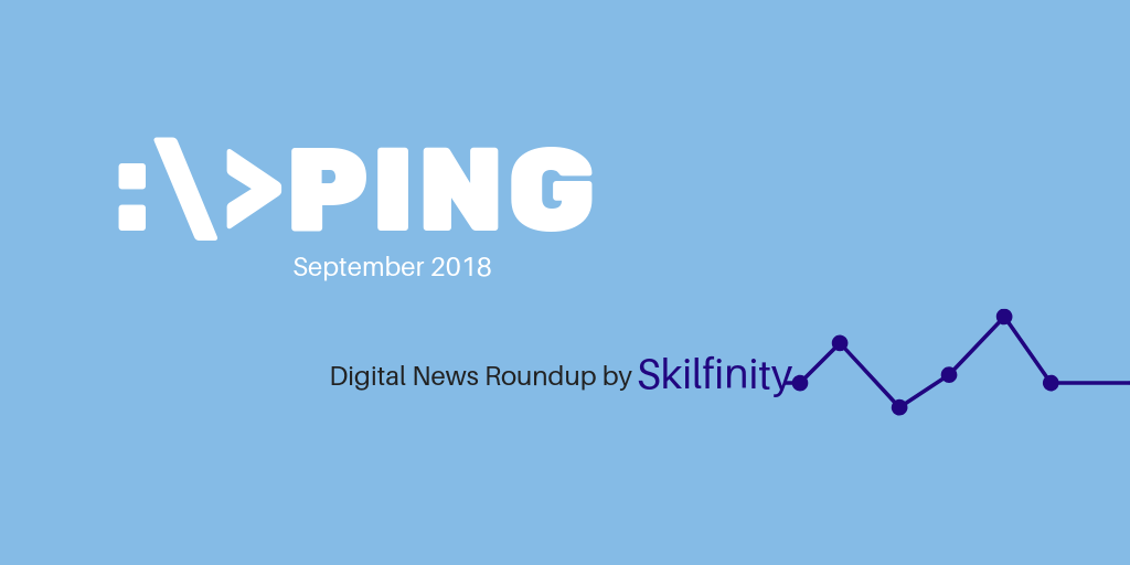 Digital marketing news Singapore by Skilfinity September 2018