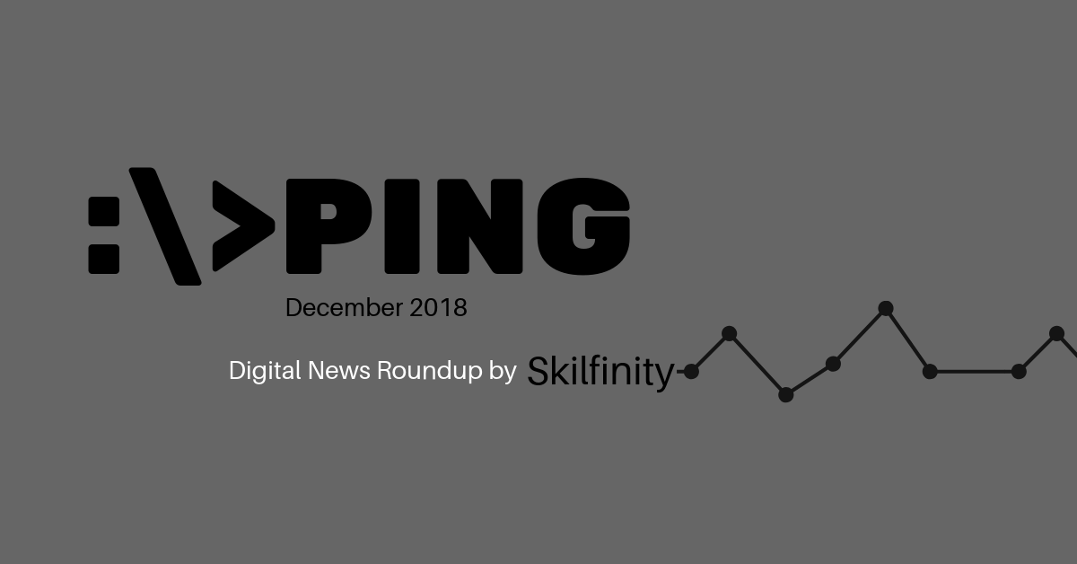 Top Digital Marketing News - Dec 2018